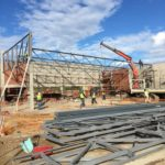 Plettenberg Bay Checkers shopping centre – Steel structure construction