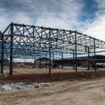 steel frame building, RAW projects